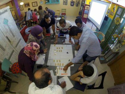 Workshop agile avec le jeu getKANBAN