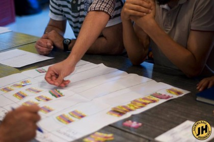 Nouveau workshop sur la méthode KANBAN avec le jeu GETKANBAN